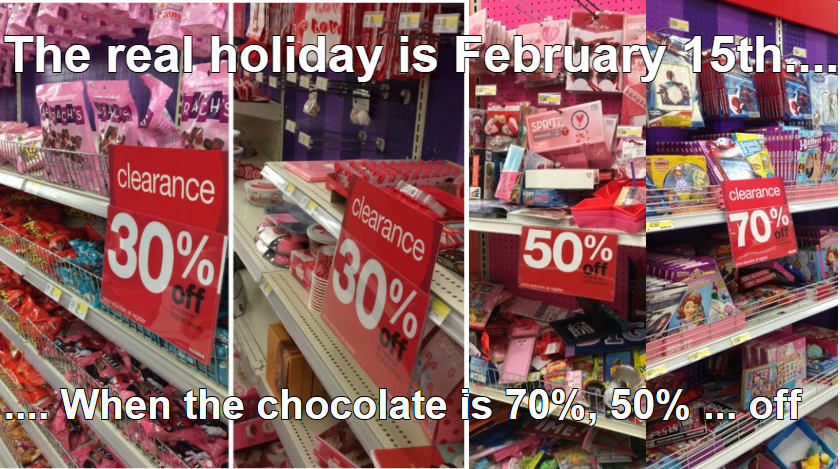 Funny Valentine's Day memes-chocolate discount-tealsmiles-
