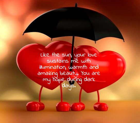 Romantic Valentine Day Quote for lovers