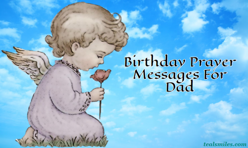 birthday prayer messages for dad