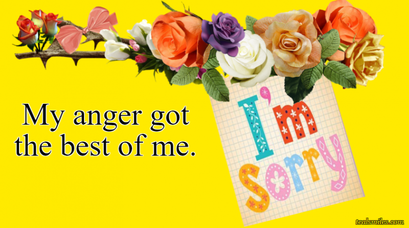 I Am Sorry Messages For Boyfriend