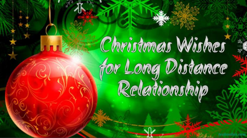 Christmas Wishes for Long Distance Relationship
