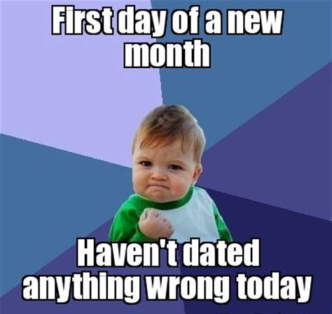 Funny New Month Memes -Funny Happy New Month Messages