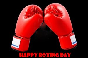 Gloves Happy Boxing Day Picture