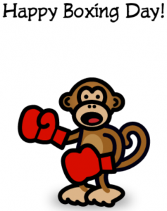 Funny Happy Boxing Day Card Picture