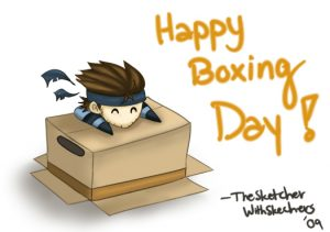 Happy Boxing Day-Funny Picture-