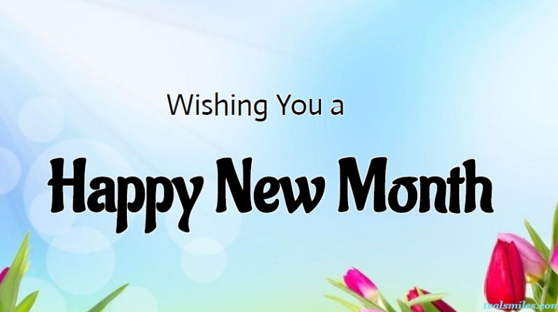 New Month Wishes for Friends
