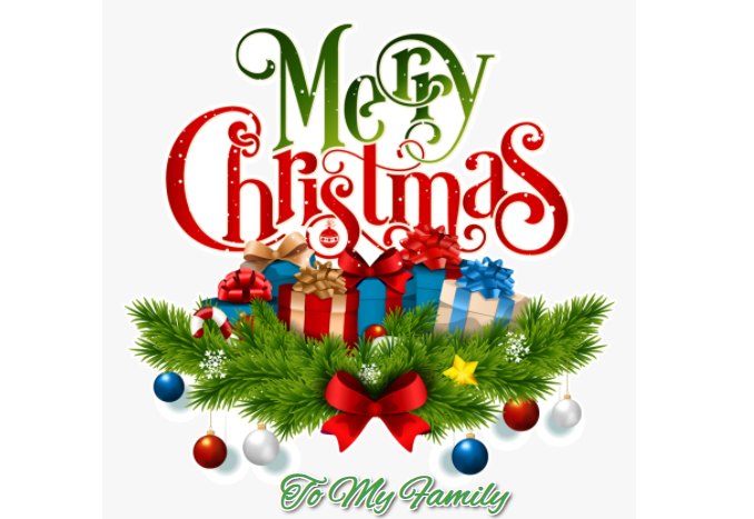 Merry Christmas Wishes And Messages To My Family