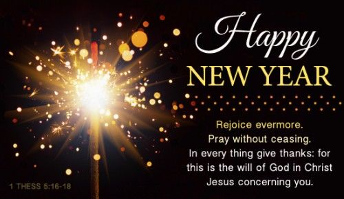 Religious Happy New Year Messages And Wishes
