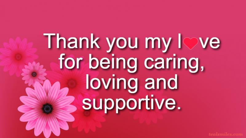 Appreciation Thank You Love Messages For Lovers