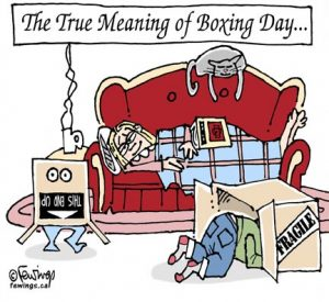 The True Meaning of Boxing Day……. Image