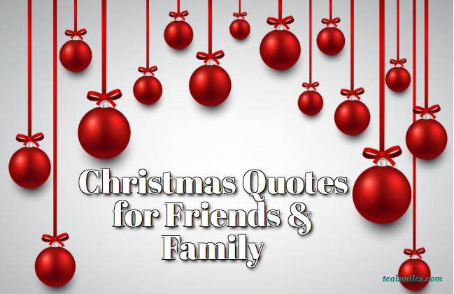 Christmas Quotes For Friends And Family