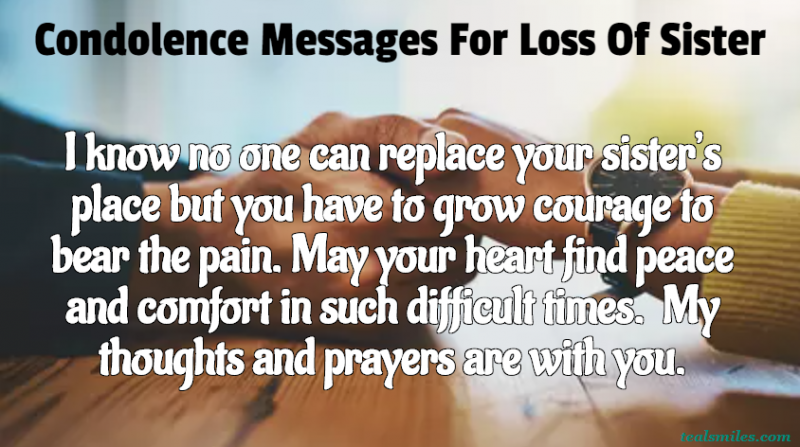 condolence-sympathy-messages-for loss of sister-tealsmiles