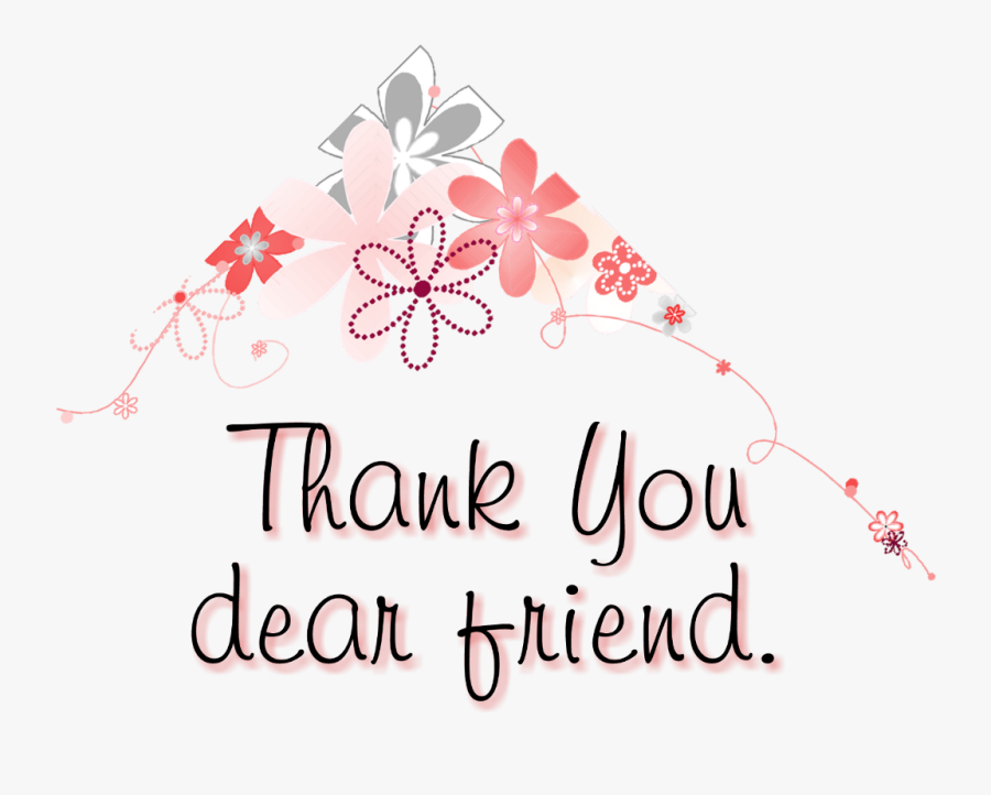 Thank You Messages For Friends
