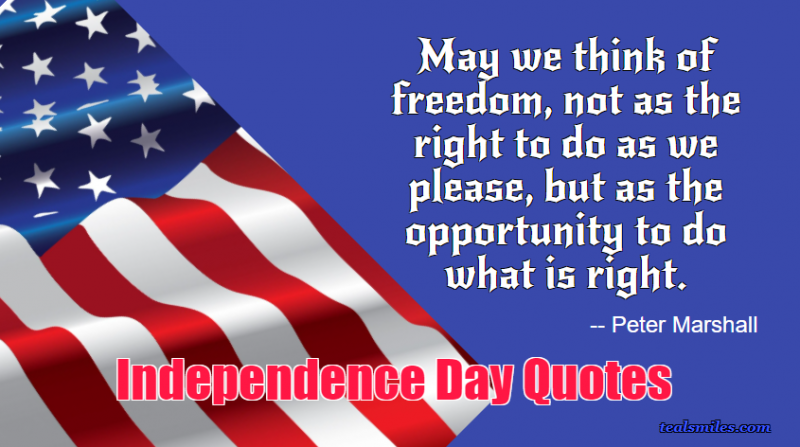 American Independence Day Quotes