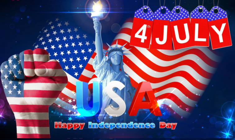 HAPPY INDEPENDENCE USA AMERICA JULY 4TH