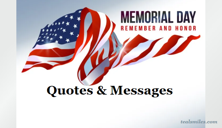 Memorial Day Messages And Quotes