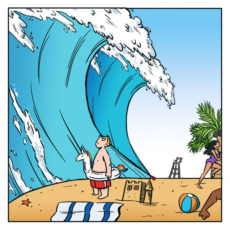 Tsunami Jokes