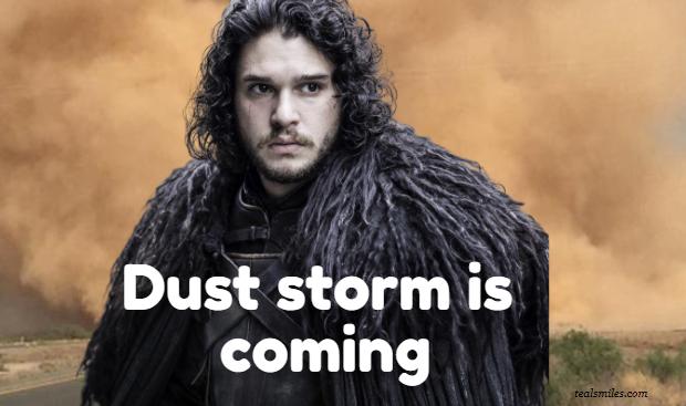 Funny Dust Storm Jokes